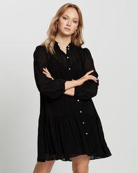 Mng Sofia Dress - Black