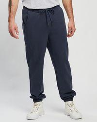 Staple Superior Staple Organic Fleece joggers - Blue