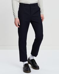 Justin Cassin Punch Trousers - Black