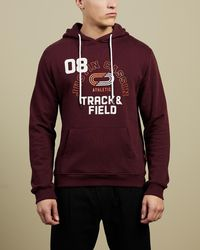 Justin Cassin Track & Field Hoodie - Multicolour