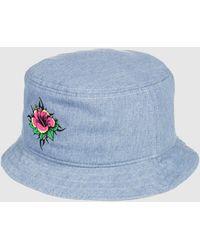 Quiksilver Uncle Surfer Bucket Hat - Blue