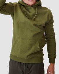 Cotton On Essential Fleece Pullover - Green
