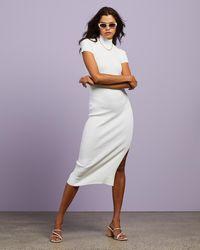 Dazie New Horizons Knit Dress - Purple
