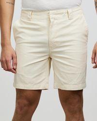 Rhythm Slub Walk Shorts - Natural