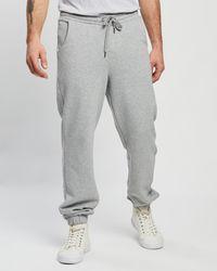 Staple Superior Staple Organic Fleece joggers - Grey