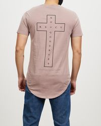 Kiss Chacey No Goodbyes Dual Curved Tee - Multicolour