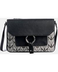 Naturalizer Cinty 2 Shoulder Bag - Black