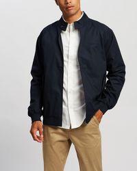 Ben Sherman Harrington Jacket - Blue