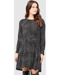 Ripe Maternity Pip Spot Woven Dress - Black