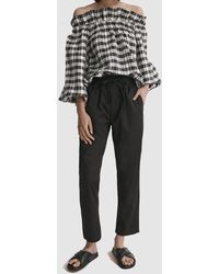 Country Road Casual Bamboo Pant - Black