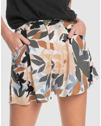 Quiksilver Session Viscose Shorts - Multicolour