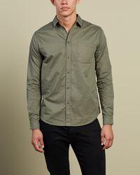 Justin Cassin Baret Shirt - Green