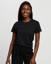 Volcom New Solid Short Sleeve Tee - Black