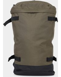 The Idle Man - Top Loading Backpack Khaki - Lyst