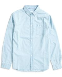 Saturdays NYC - Crosby Denim Shirt Washed Indigo - Lyst