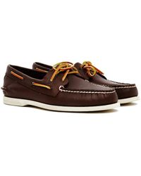 Sperry Top-Sider - Classic Leather Boat Shoe Brown - Lyst