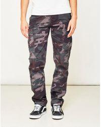 Huf - Treadstone Cargo Pant Camo Green - Lyst