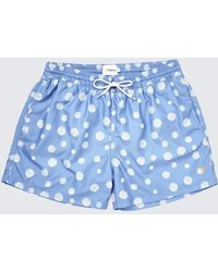 Farah | Vintage Swim Shorts In Dot Print | Lyst