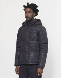 Penfield - Equinox Camo Jacket Black - Lyst