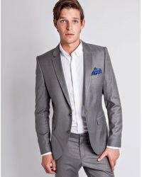 SELECTED - One Mylo Logan Grey Blazer - Lyst