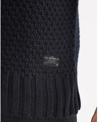 Lee Jeans - Chunky Crew Neck Jumper - Lyst