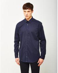 Vito - Solo Shirt Navy - Lyst