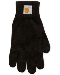 Carhartt WIP - Watch Gloves Black - Lyst