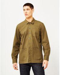 Dickies - Kempton Shirt Green Men's Long Sleeved Shirt In Green - Lyst