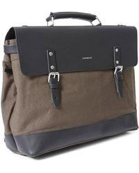 Sandqvist - Jones 3-way Backpack Grey - Lyst