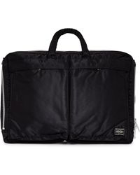 Porter - Tanker 2 Way Brief Case Black - Lyst