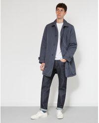 Lacoste - Blouson Overcoat Grey - Lyst