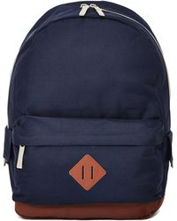 The Idle Man - Heritage Backpack Navy - Lyst