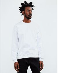 The Idle Man - Classic Sweatshirt White - Lyst