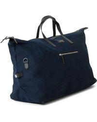 Sandqvist   Damien Weekend Bag Blue   Lyst