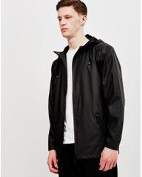 Rains | Breaker Jacket Black | Lyst
