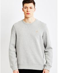 Farah - Vintage Sweatshirt Grey - Lyst