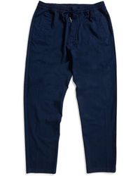 Folk - Drawcord Trousers Navy - Lyst