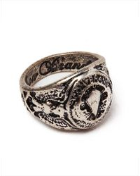 Icon Brand - Military Ring - Lyst