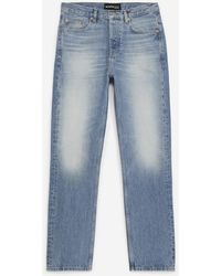 The Kooples Straight-cut Faded Blue Jeans