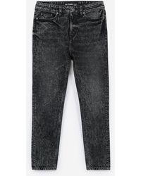 The Kooples Zwarte Verwassen Jimmy-jeans Met Stras