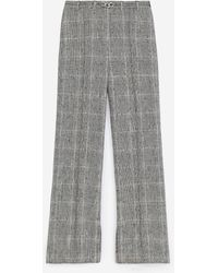 The Kooples Prince-of-wales Gray Suit Pants