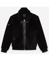 The Kooples Black Jacket - Zwart