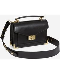 The Kooples Mini-Tasche Emily Iconic Modell onyxschwarz