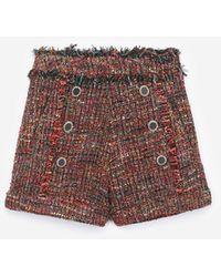 The Kooples Pantalones cortos de tweed - Multicolor