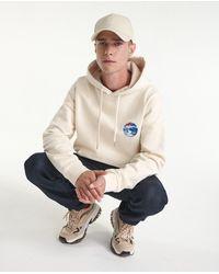 The Kooples Gebroken Witte Hoodie Met Planeet - Meerkleurig