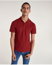 The Kooples Polo col classique rouge