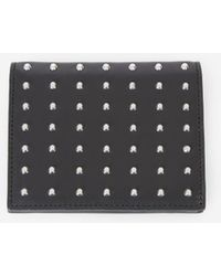 The Kooples Black Leather Wallet With Studs