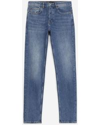 The Kooples Verwassen Blauwe Jeans Met Slim Pasvorm
