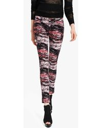 The Kooples Printed trousers - Rot