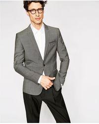 The Kooples Men's Gray Suit Jacket